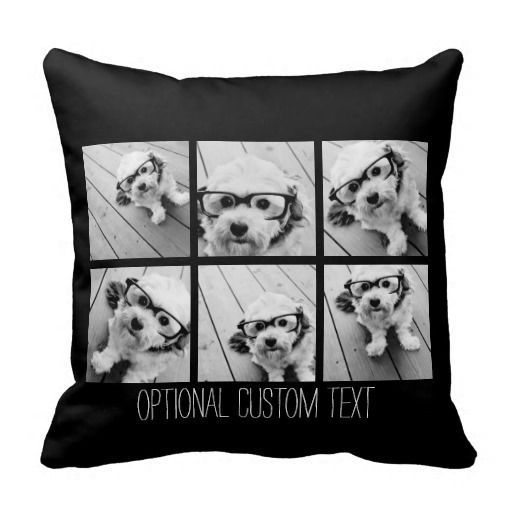 7 cool ways to customize your stuff with photos. Photo pillows: Look for a fabric printing company that offers pillow covers in standard sizes. You might luck out at your local @walgreens or @walmart photo studio. Zazzle offers some great templates (and synthetic-filled inserts are included) for about $33 VIA @zazzle.