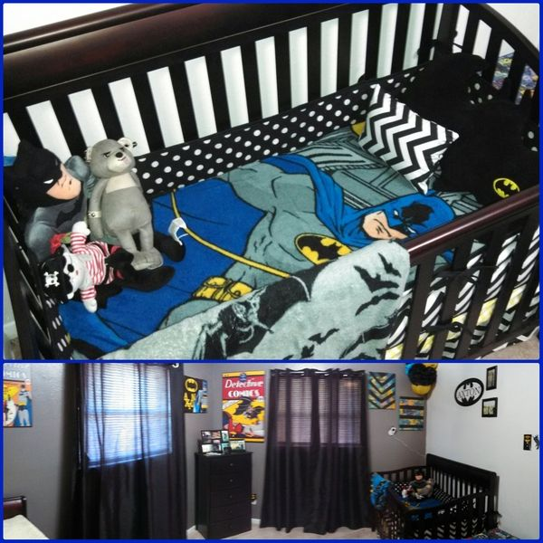 batman crib bedding 2
