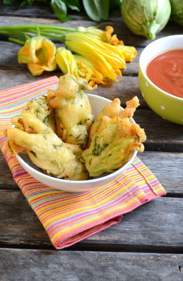Beignets de fleurs de courgettes #vegan #sansgluten | Green Cuisine