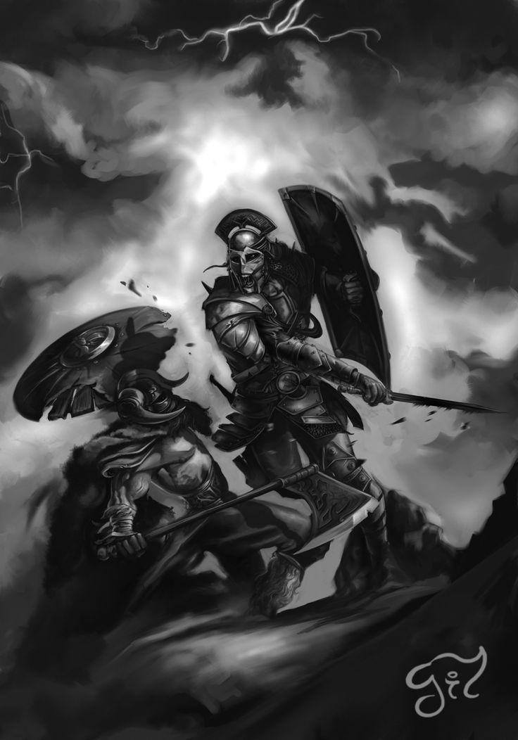 Ivan Gil artwork for Megalith Games.