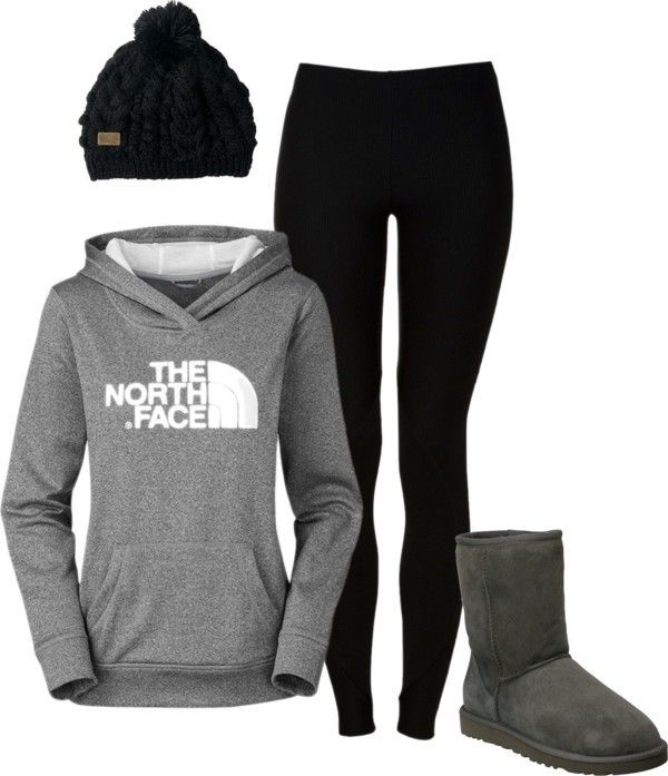 """North Face"" by cassmaeb on Polyvore"