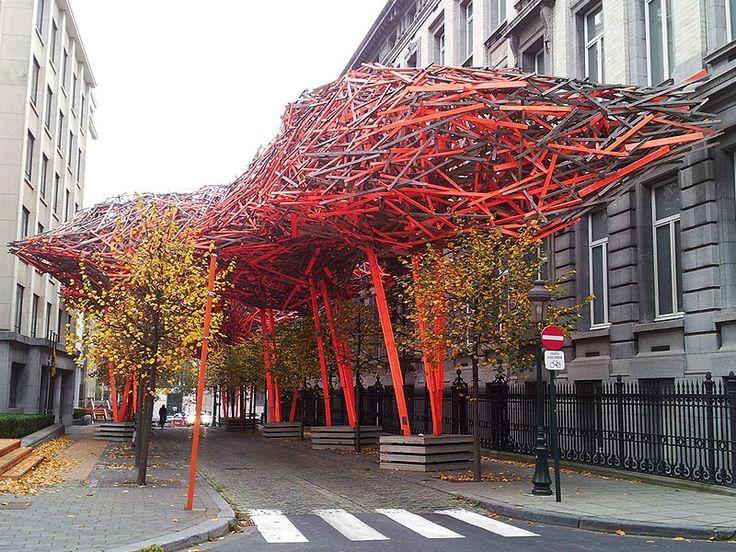arquitectura efimera - escultura urbana