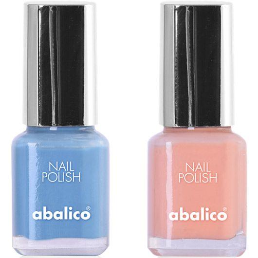 Diesen Sommer lieben wir zarte Farben – auch auf den Nägeln. Wie die neuen von abalico.