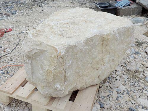Ein Brunnen entsteht: Steinbrocken Code 110