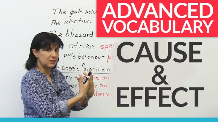 Do you know what it means to wreak havoc, spell disaster, or prompt speculation? In this lesson, you will learn how to use advanced expressions that describe cause and effect. These types of expressions will certainly increase your writing score in the IELTS, TOEFL, TOEIC, or any other English test. Use any of these expressions in your writing, and you are guaranteed to impress your teacher, professor, or examiner!