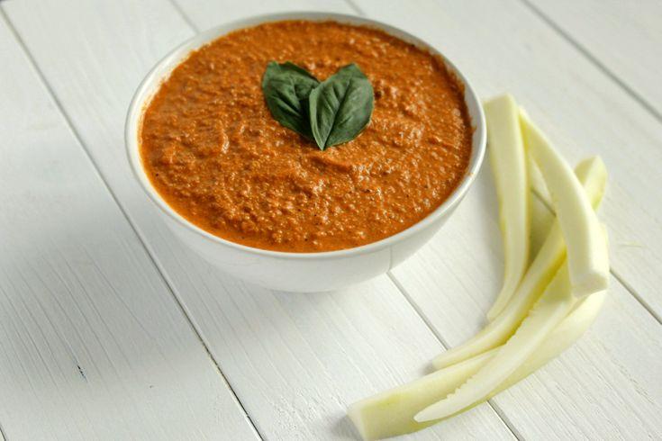 Wegańska pasta z pomidorów