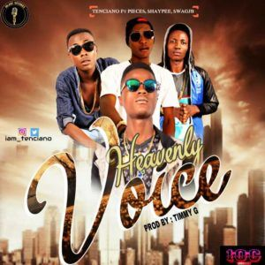 Music: Tenciano feat pieces shaypee swagjb   Tenciano set another hitjamz from the table of J.ARECORD MUSIC a dope music FEATURING Pieces(lady voice) and shaypee (bashorun instrumental) with young reminisce Swagjb ( agah ika) Inside this luscious music HEAVENLY VOICE a prayerfull music this four artist express their tought and what they want from GOD it produce by TIMMY G Download and enjoy. Am gonna return your mb if you dont like it  DOWNLOAD HERE  music