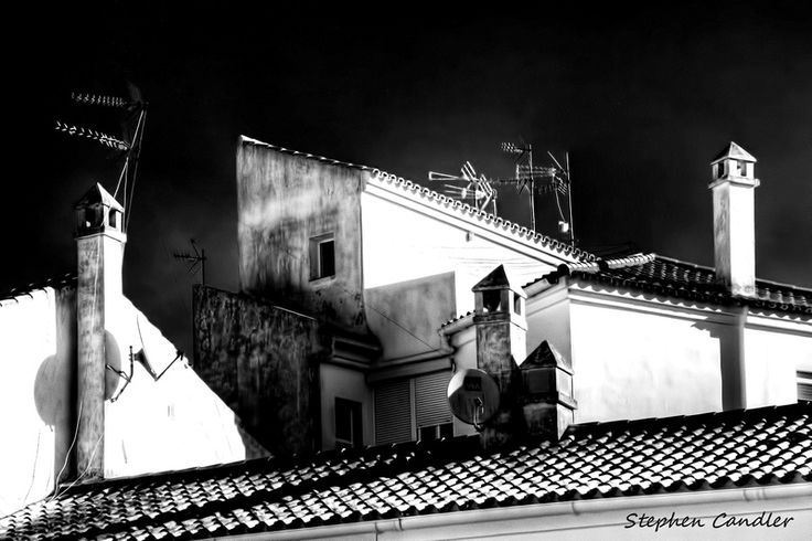 Contrasting Rooftops