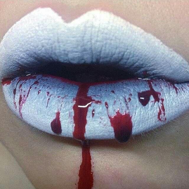 Bloody Lips Bloody lips #Ha...