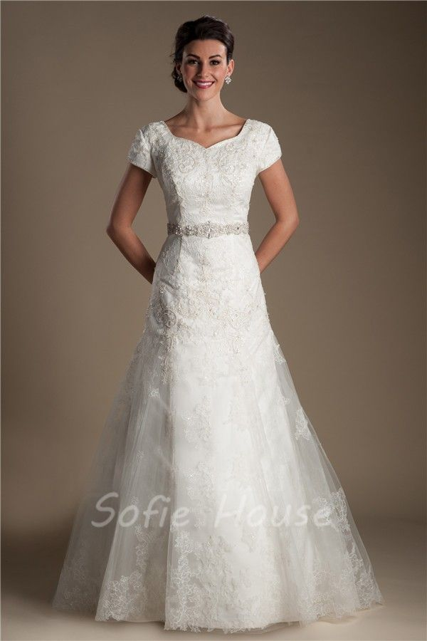 17 Best images about Modest wedding dress on Pinterest | Modest ...