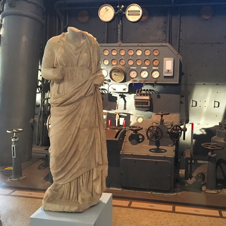 Centrale Montemartini - Visite FAI - Oct 2016 ©ROME Pratique