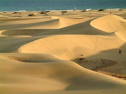 Dunas de Maspalomas - Gran Canaria, amazing!!