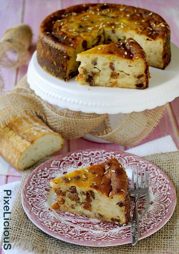 Torta Nicolota, la Torta di Pane e Uvetta di Venezia #calendargirls di PixeLiciouS #tortadipane