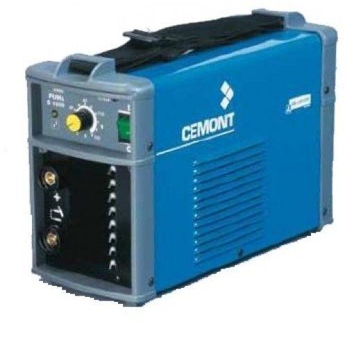 Inverters : Puma S1600 cemont Ιδανική για επαγγελματική καθημερινή χρήση  Ελαφριές κάτω από 7 κιλά για συγκόλληση ηλεκτροδίων (κοινά - ανοξείδωτα - special κλπ)  Παραδίδονται χωρίς καλώδια  ΧΑΡΑΚΤΗΡΙΣΤΙΚΑ  230-1 VOLT 4.6 KW 5-150 A 150(25%) A(%) 1.6 - 4 ΗΛΕΚΤΡΟΔΙΟ 145Χ230Χ365 ΔΙΑΣΤΑΣΕΙΣ Βάρος 7 ΚΙΛΑ