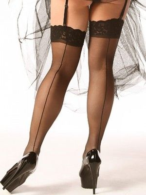 There's a level of intrigue and sex appeal you can only get from soft, sultry Backseam Stockings. The seam down the backPrice - $14.95-c7aDnu2h