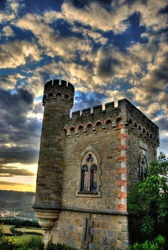Tour Magdala, Rennes le Chateau, Francia. Un sitio con un millon de historias y mitos !!