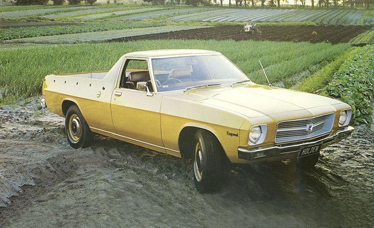 Classic Holden Utes: Holden HQ Ute