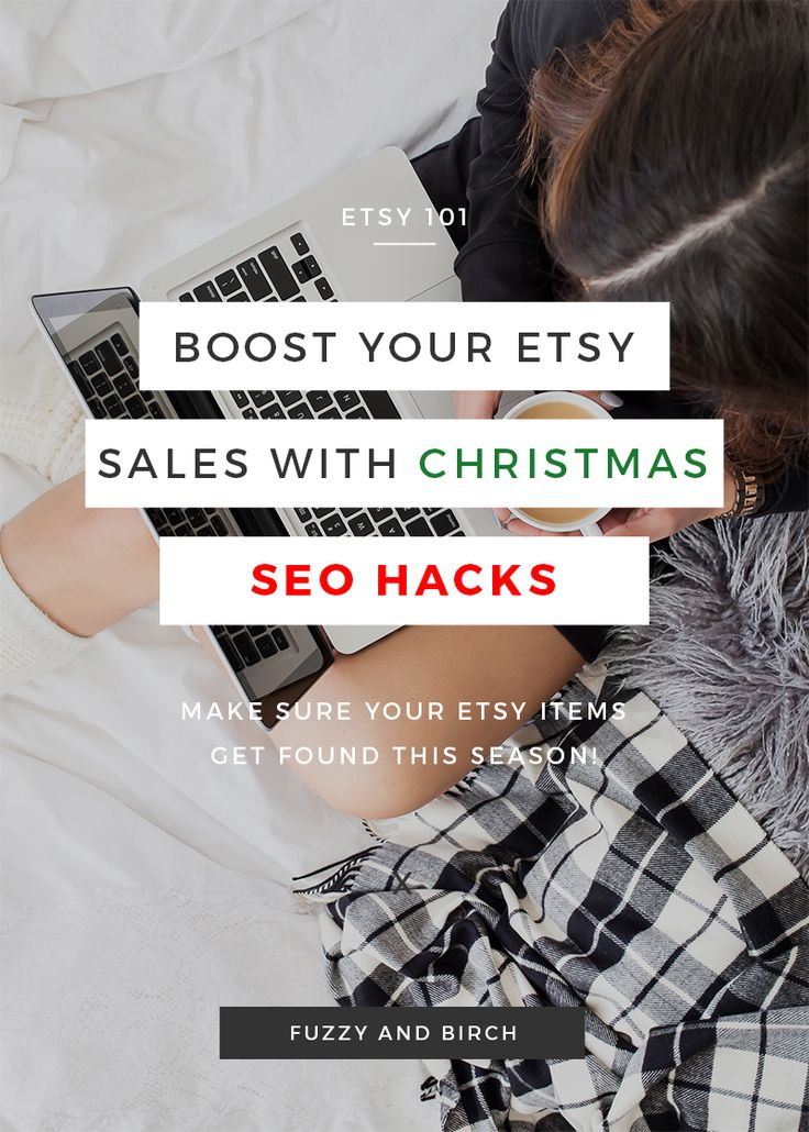 Your Etsy items are already irresistable...so how do you get them from SEEN to SOLD this holiday season? Learn some quick and easy traffic hacks from a Fortune 500 SEO specialist. (And YES, she has a successful Etsy shop!) She's got all the best tips rounded up for you in one video, click here to watch now - https://youtu.be/Zdd9dHK-OEA