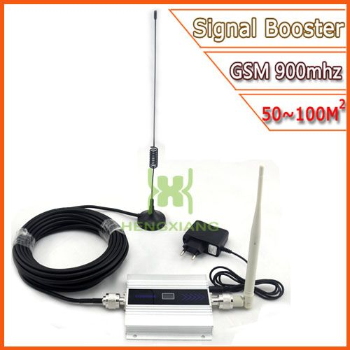 LCD GSM Booster 2G Handy GSM Signal Booster 900 mhz Mobile Signal Repeater Verstärker mit Antenne Großhandel