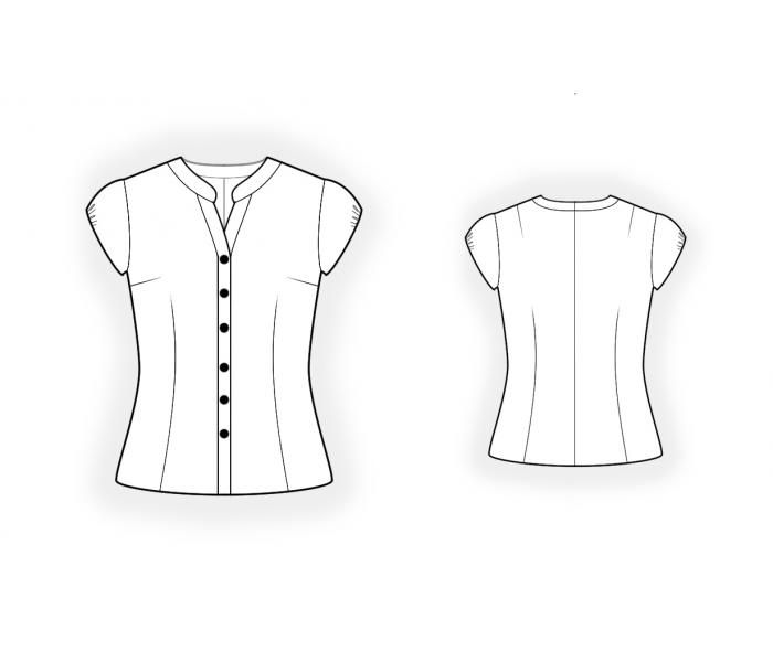 collar dress shirt patterns