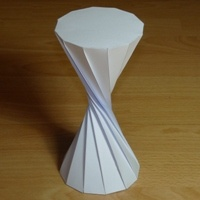 twisted dodecagonal prism (180)...this site has hundreds of printable 3-d shape templates
