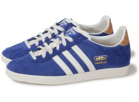 adidas gazelle og bleu soldes