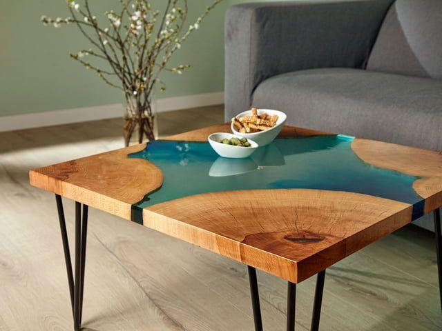 Epoxidharz Tisch selber bauen: DIY Anleitung in 2020 | Tisch