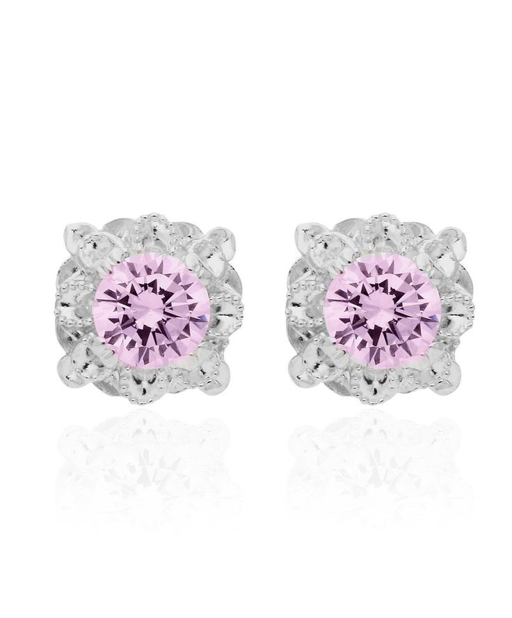 Add a pop of pink to your daily wardrobe with our Kimberley Earrings by Jenna Clifford