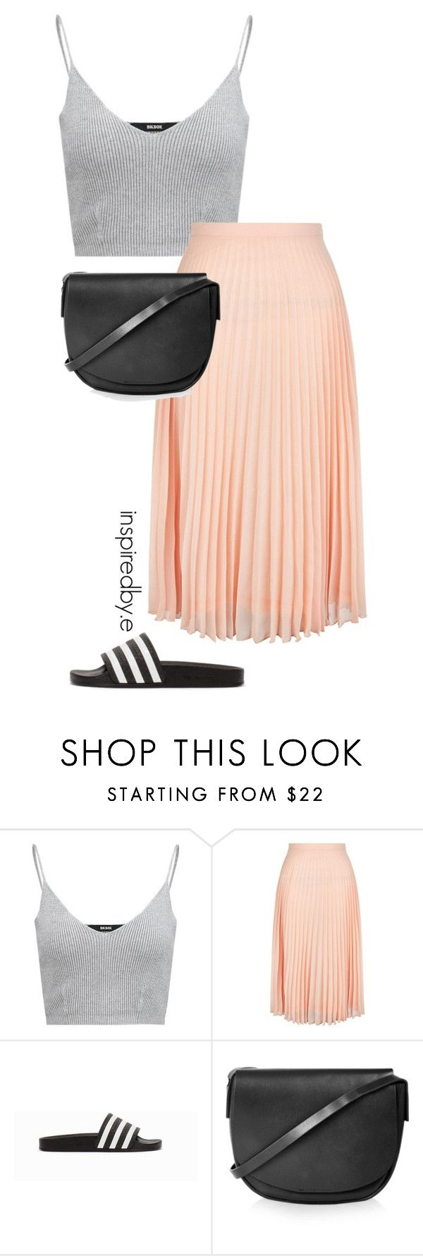 """Interest it"" by emmakiis on Polyvore featuring New Look, adidas Originals and Topshop"