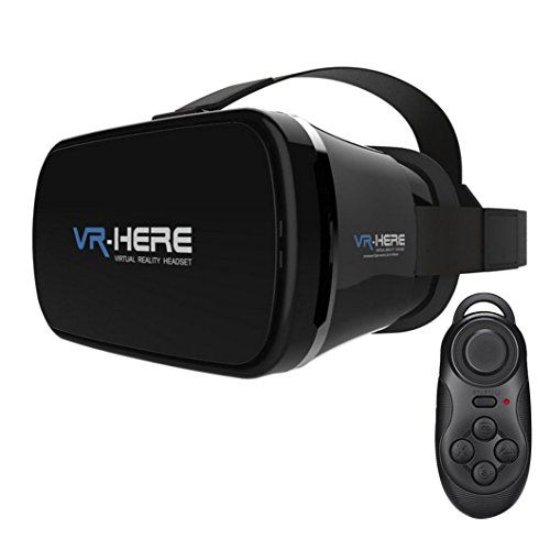 SUSUNME 3D VR Glasses Virtual Reality Headset Goggles Box for iPhone 66 plusAndroid Samsung Galaxy S5S6S6 edge and Windows Phone ** See this great product.Note:It is affiliate link to Amazon.