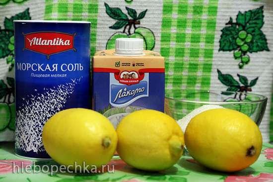 Лимонное мороженое лечебное