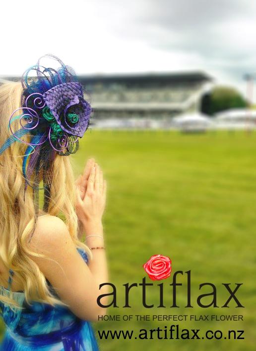 Flax Fascinator by Artiflax