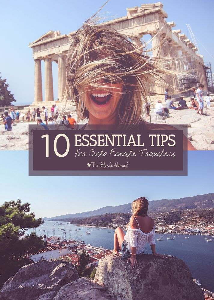 Solo- Female- Travel Tips. It is ok to travel alone- here are tips to be watchful yet to enjoy seeing the world at the same time.