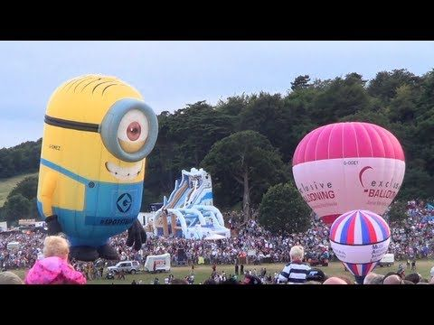 Bristol International Balloon Fiesta 2013 - YouTube