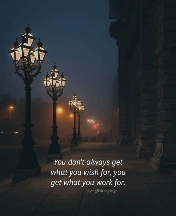 You dont always get what you wish for..