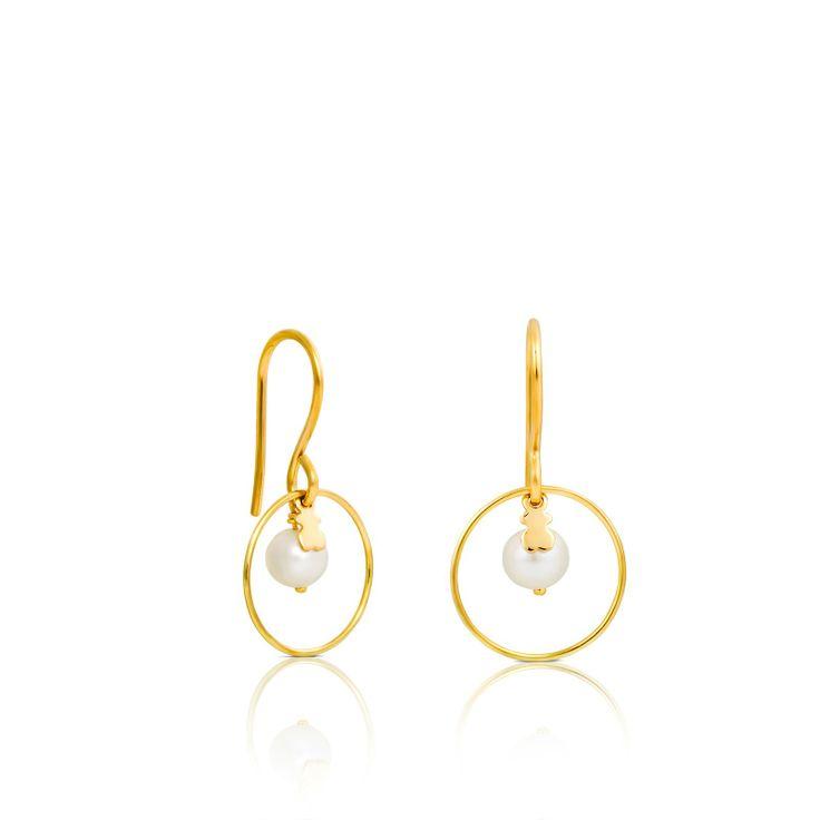 18kt yellow gold TOUS Verona earrings