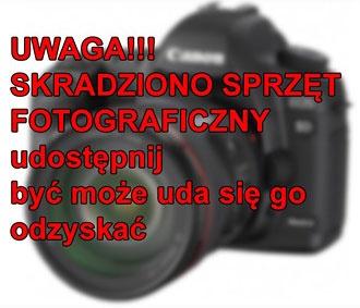 Skradziono Sprzęt Fotograficzny