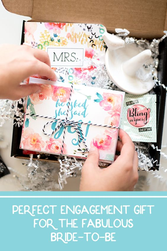 "The perfect ""all in one"" Engagement Gift to send to your fabulous Bride-to-be Friend!"