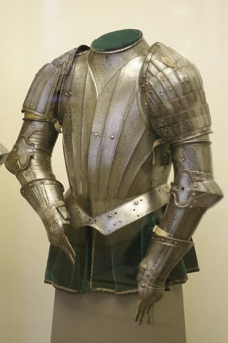 Parts of an armour for use in the tilt by THoog, via Flickr