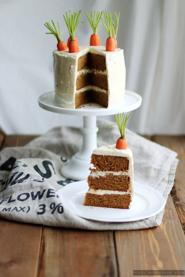 Nach Weihnachten ist vor Ostern  {Lecker} ... Happy Easter & the BEST Carrot Cake Recipe by Feel Wunderbar Blog