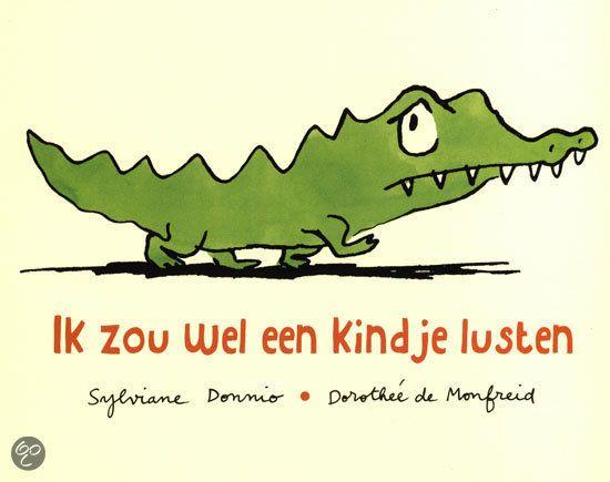 Ik zou wel een kindje lusten + Pluchen Krokodil #Kids
