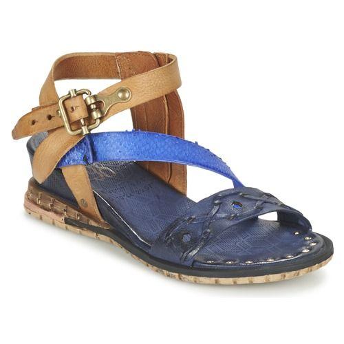 Sandále+Airstep+/+A.S.98+PUNCH+Modrá+/+Námornícka+modrá+122.50+€