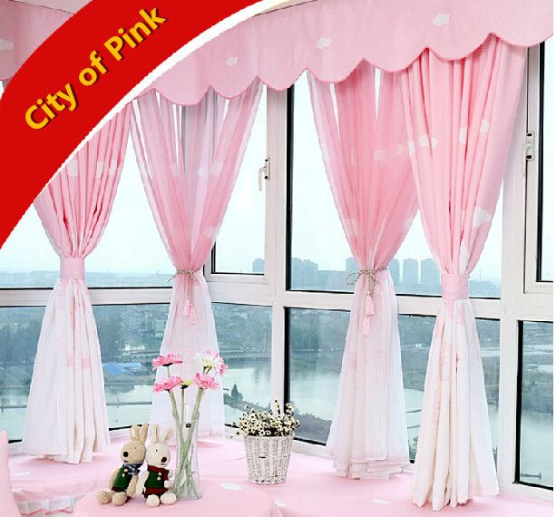 Cheap curtain electric, Buy Quality curtain grommet directly from China curtain fabric in india Suppliers: 2014 new arrival Mediterranean style curtain pink curtains for wedding room living room children's room curtains for bay