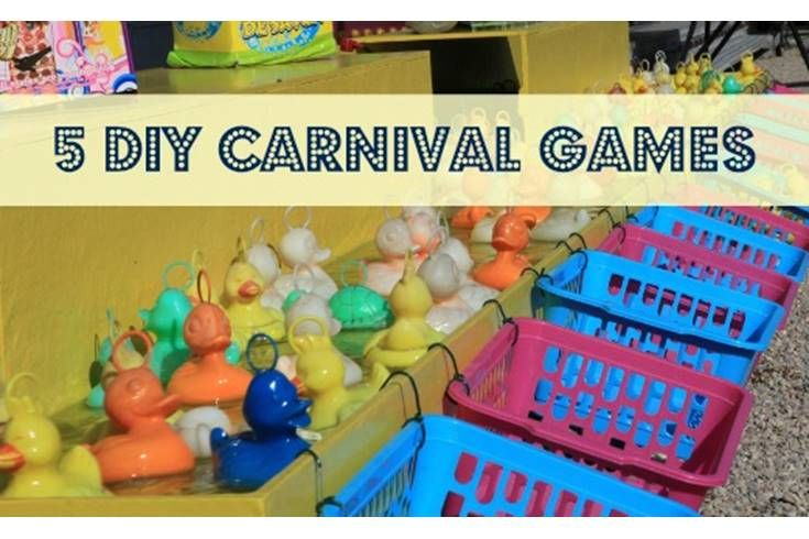Carnival games are pricey and the odds are never in your favor. Help kids understand the math behind the games with these 5 DIY carnival games you can make at home!