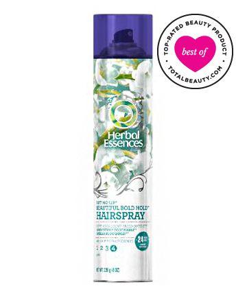 Best Drugstore Hairspray No. 4: Herbal Essences Set Me Up Stylers Beautiful Bold Hold Hairspray, $4.99