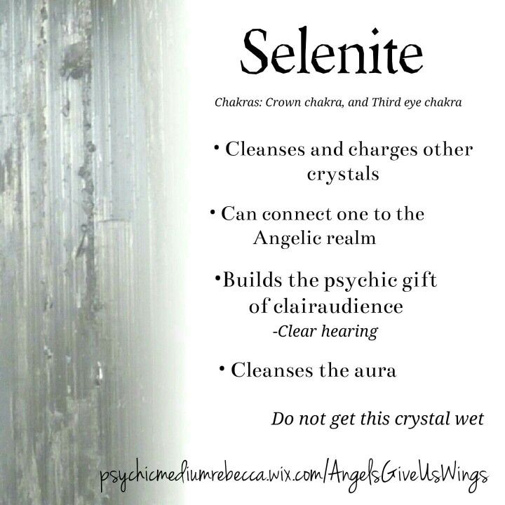 Selenite crystal meaning