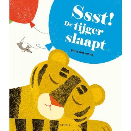 Ssst! De tijger slaapt is een verrassend en interactief prentenboek van Britta Teckentrup. Bijzonder is dat de ballonnen in de tekeningen glanzend zijn, zodat ze net op echte ballonnen lijken.