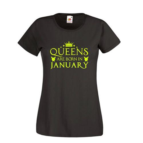 Tricou personalizat Queens are born in