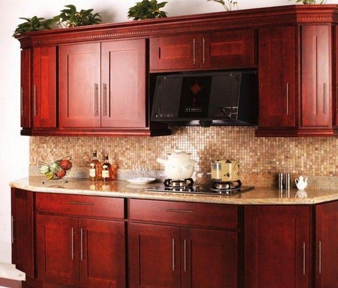 Cherry Wood Kitchen Units: Best 25+ Cherry Wood Kitchens Ideas On Pinterest