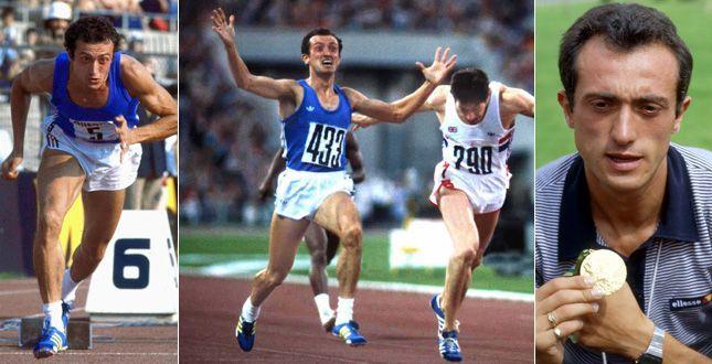 pietro mennea (Barletta, 28 giugno 1952 – Roma, 21 marzo 2013) record del mondo (Mosca-Russia/Olimpiadi 1980-ORO Atletica leggera-200 metri piani)